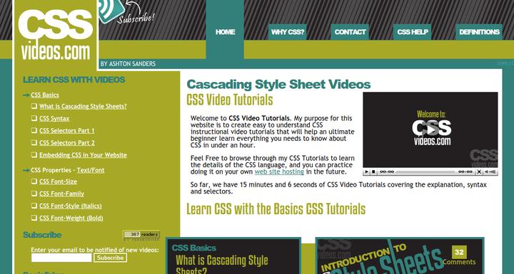 CSS Videos
