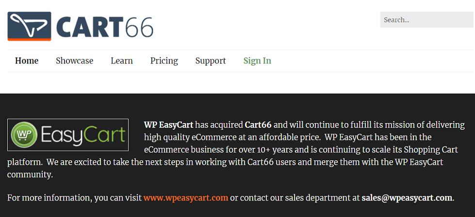 Cart66 WordPress plugin eCommerce