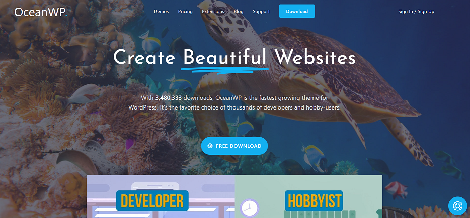 OceanWP - the best free WooCommerce theme