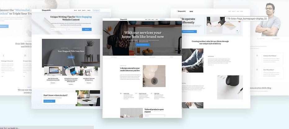 Best WordPress page builder - thrive