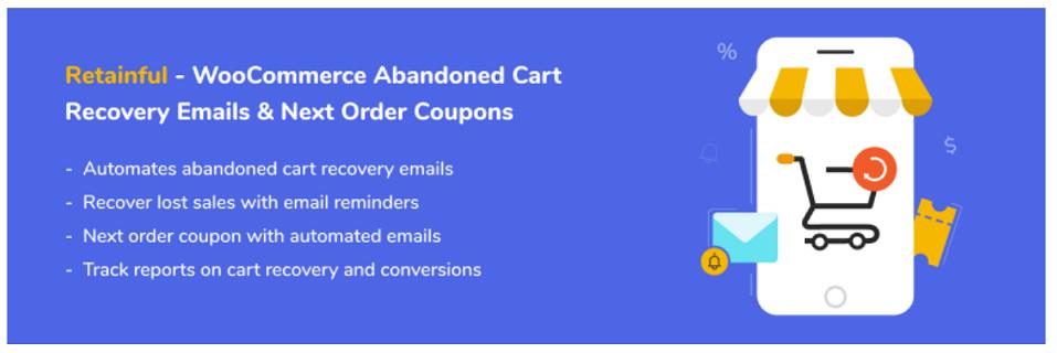 Retainful cart abandonment plugin