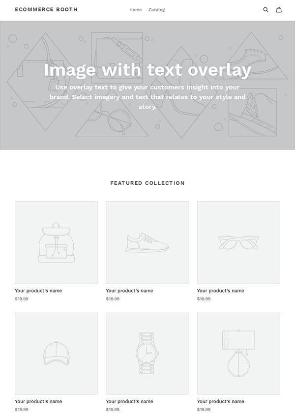 Shopify - Default Theme