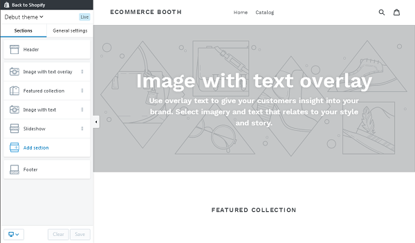 Shopify Sections
