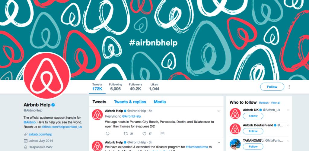 airbnb help twitter