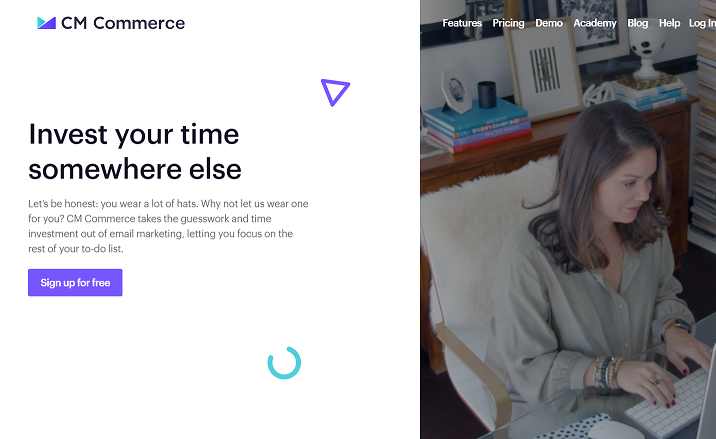 cm commerce ecommerce email system