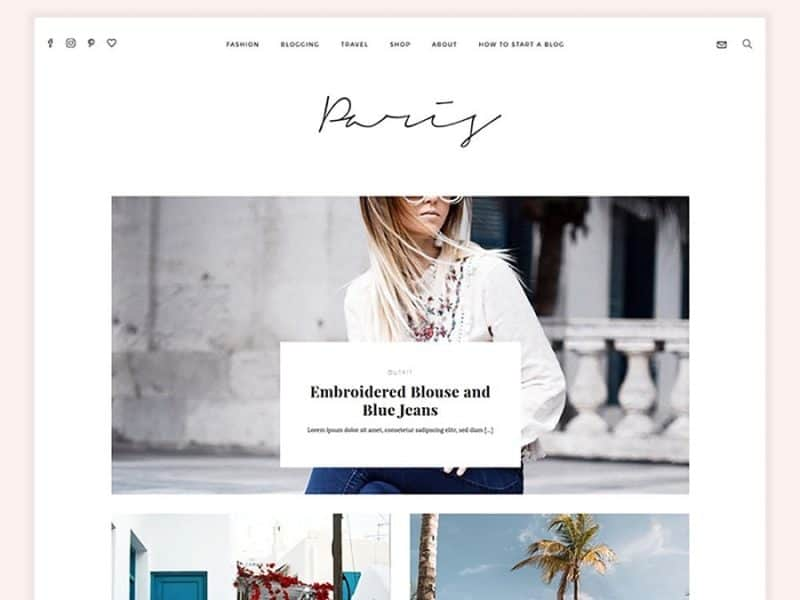 Paris Magazine Theme