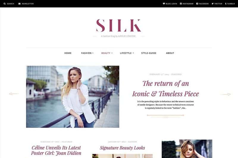 Silk Fashion Magazine
