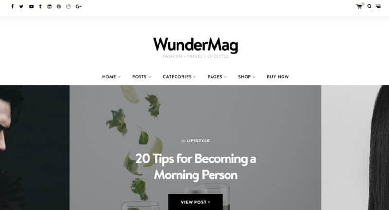 wundermag-theme