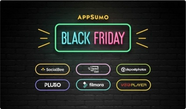 AppSumo's Black Friday advertisement