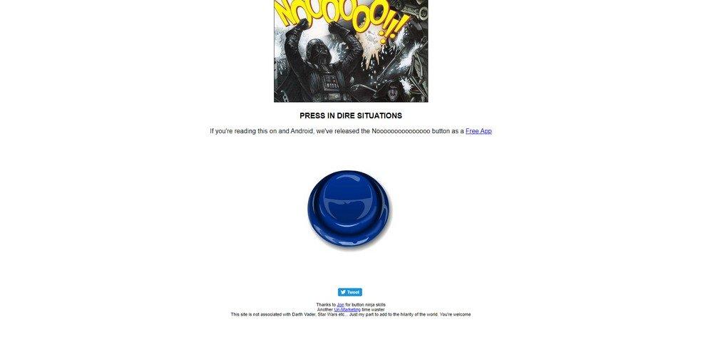 nooo button