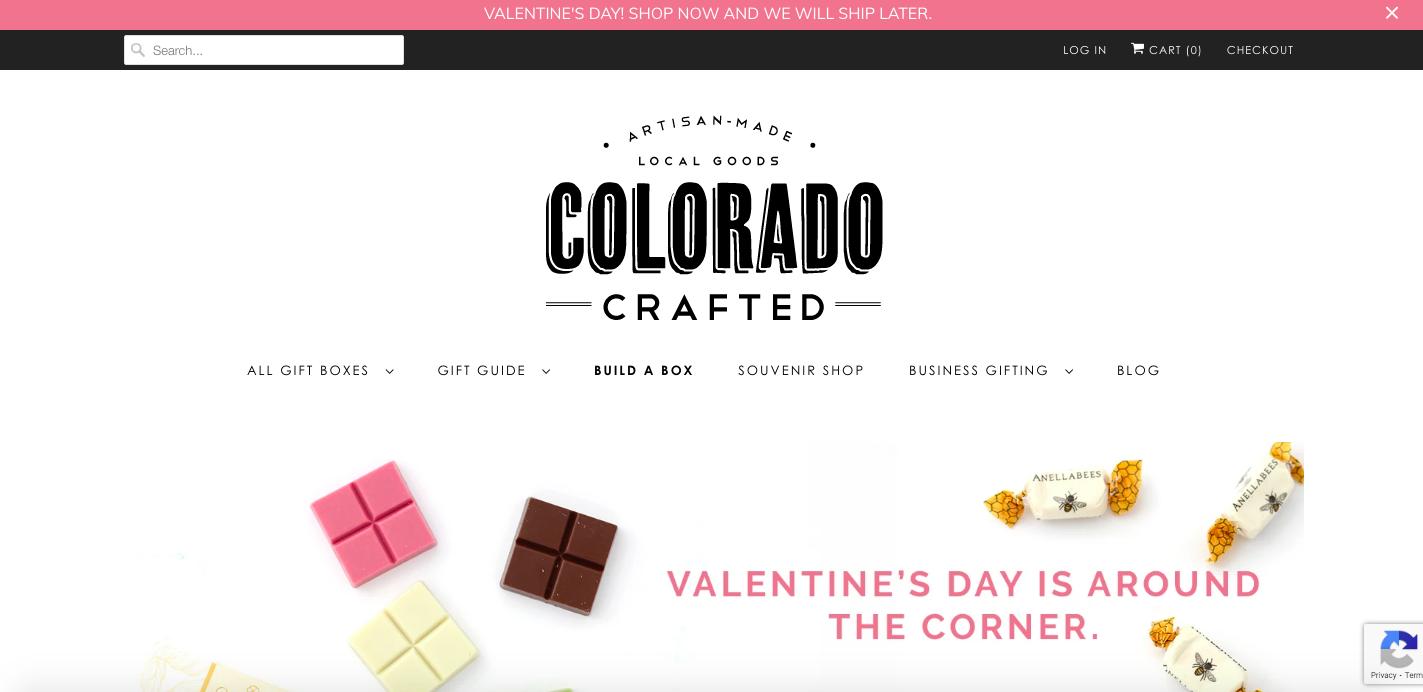 Colorado Crafted Shopify site