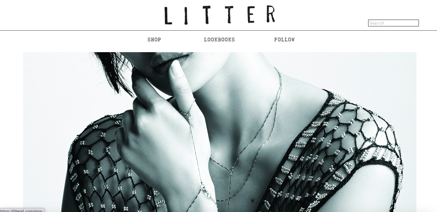Litter Shopify site