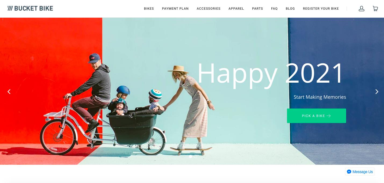 Madsen Shopify site