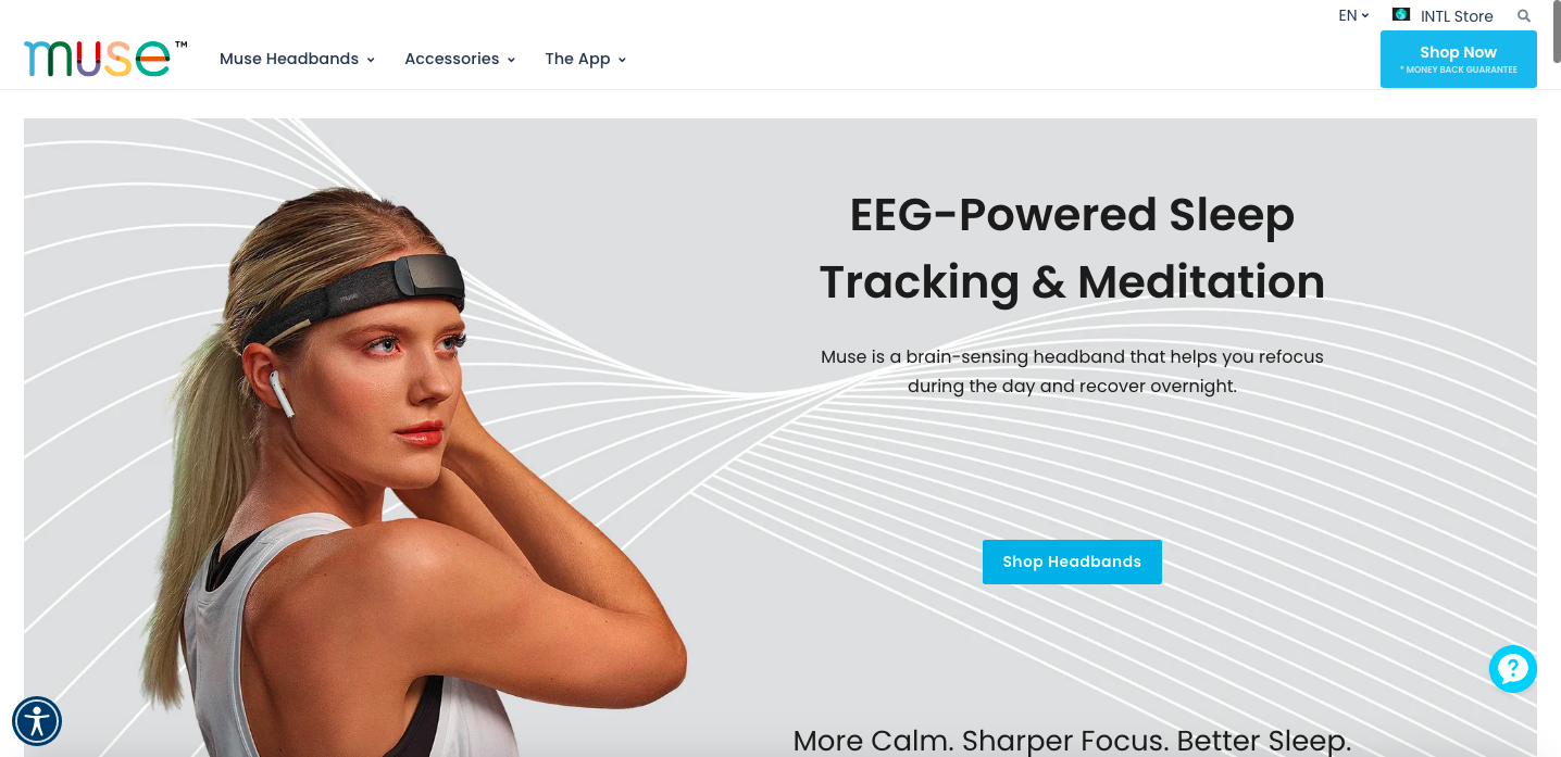 Muse Shopify site
