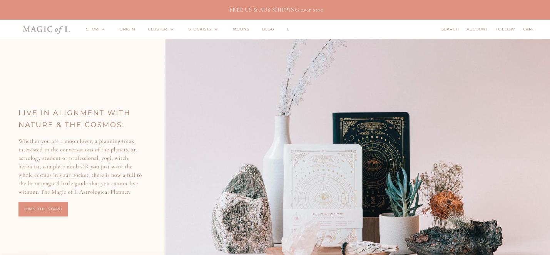 Magic of I ecommerce website design