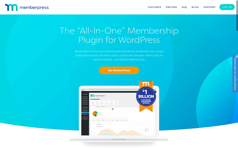 WordPress with Memberpress