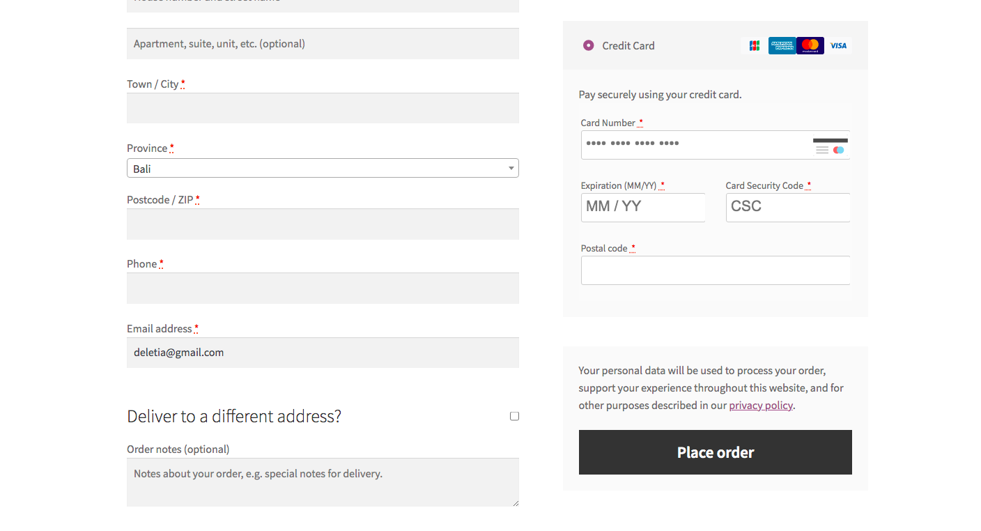 WooCommerce checkout with Square POS