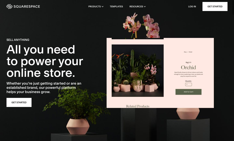 Subscription site on Squarespace Commerce