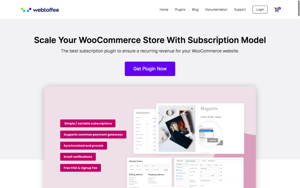 Webtoffee Subscriptions for WooCommerce