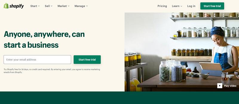 Shopify - #3 LemonStand alternative